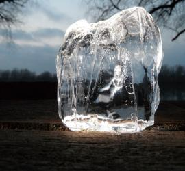 Belleza con hielo